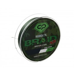 DIAMOND SHOCK BRAID 25m DARK GREEN