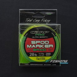 DIAMOND SPOD &MAKER BRAID 200M YELLOW
